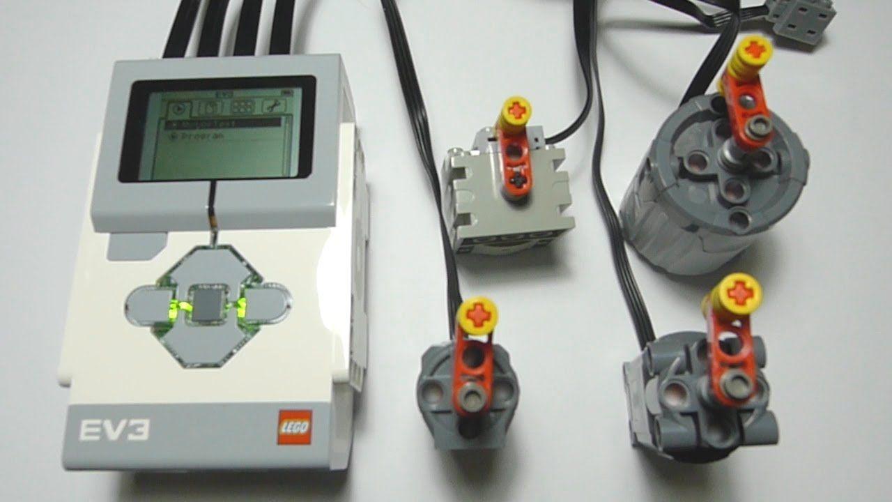 Lego Ev3 Controlling Power Functions Motor Lego Lego Mindstorms Lego Mindstorms Nxt