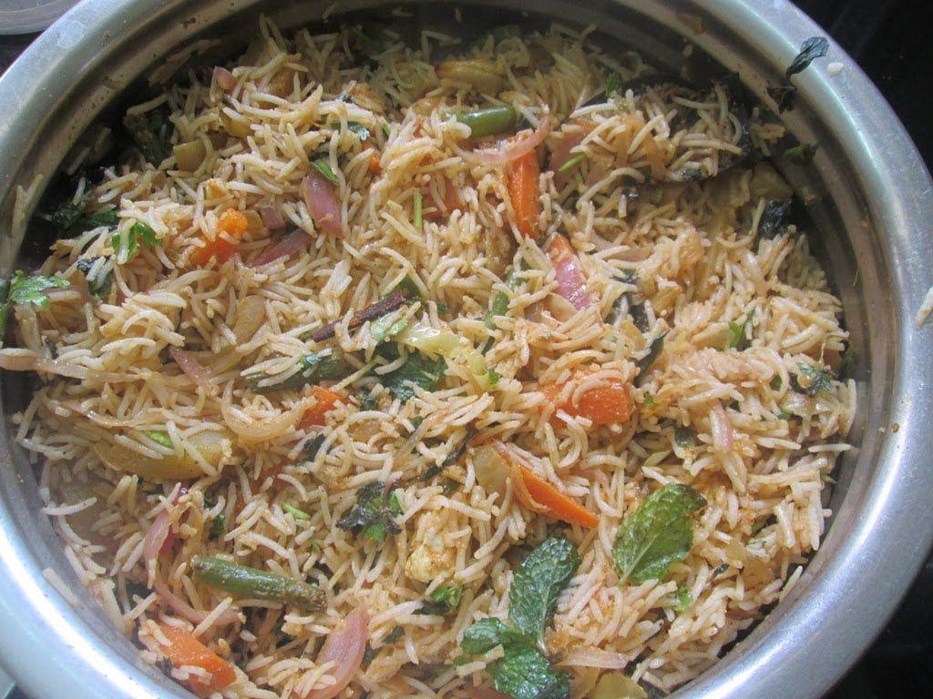 Veg Pulao Recipe Madhura