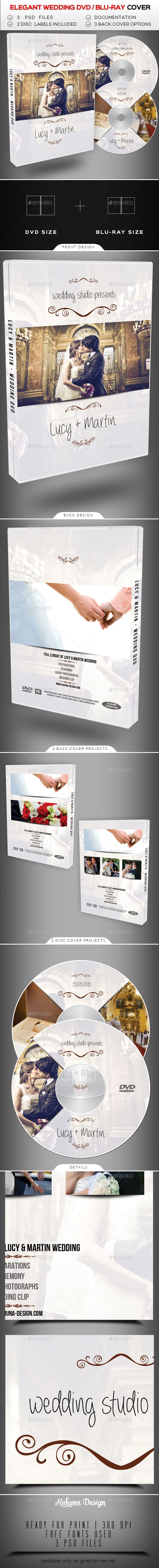 Wedding Dvd Blu Ray Cover 2 Cd Dvd Artwork Print Templates