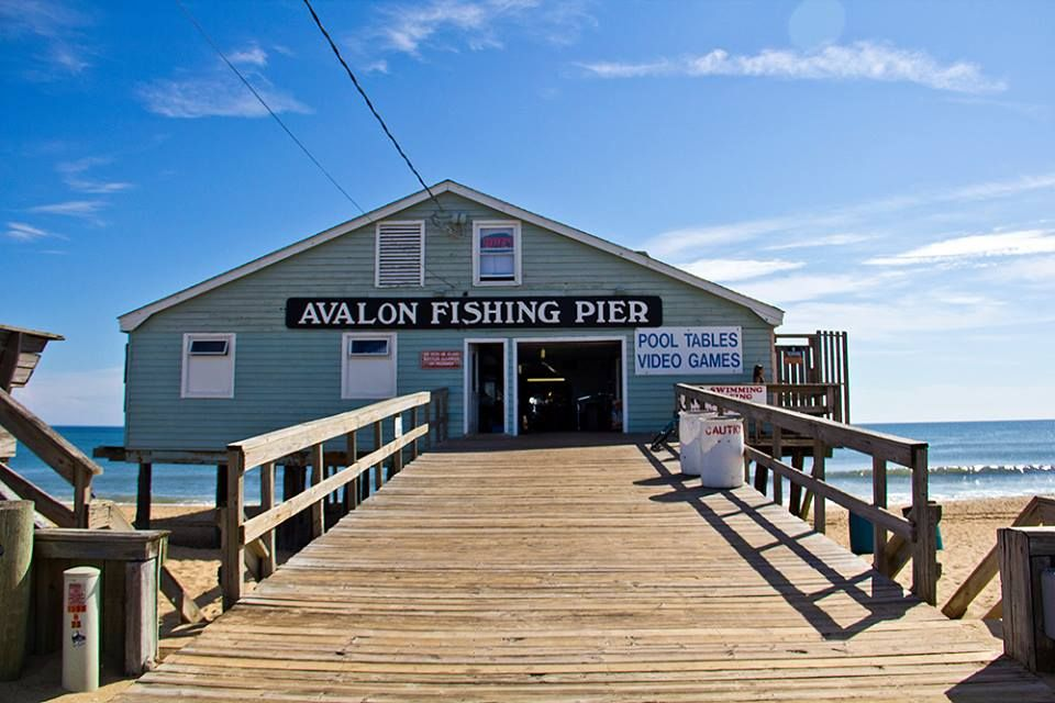 Outer Banks Fishing Piers