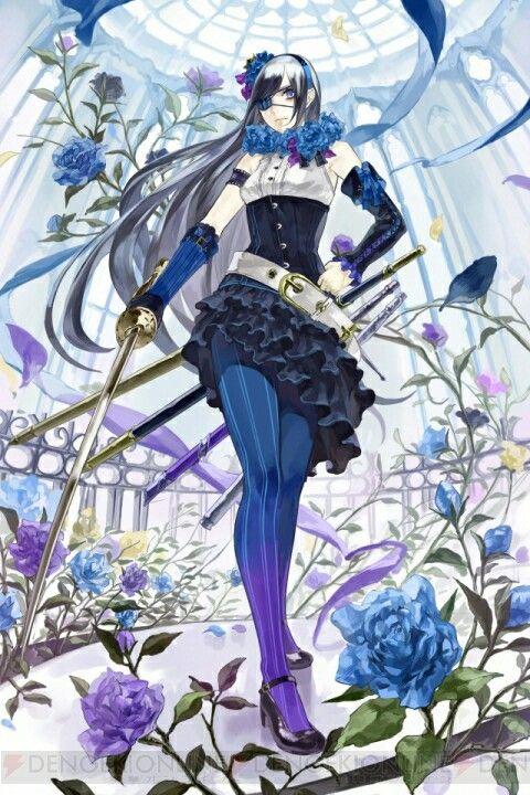 Chain Chronicle official character art Aurora | Chain Chronicle