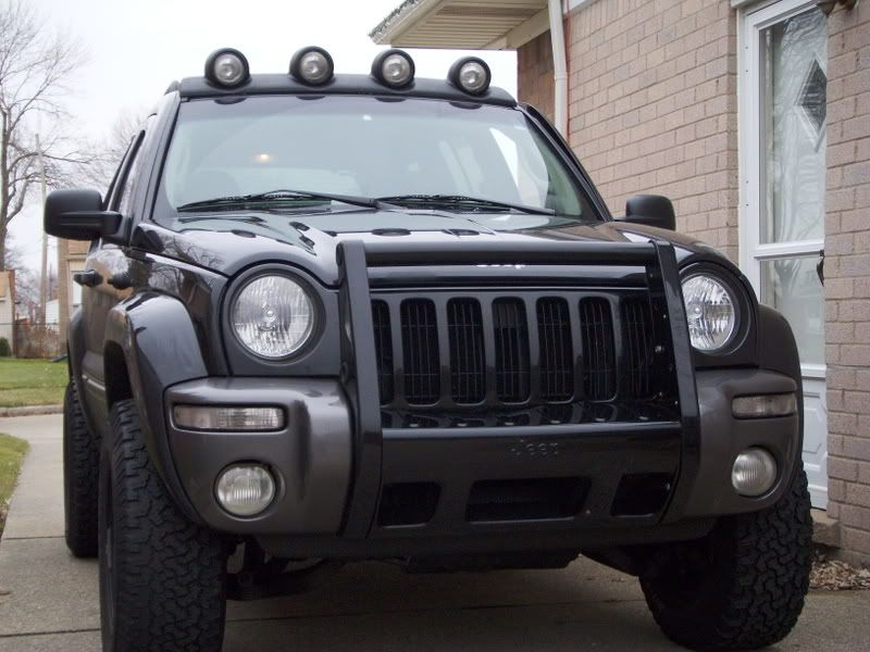Grille Guard Jeep Liberty Jeep it and Creep It