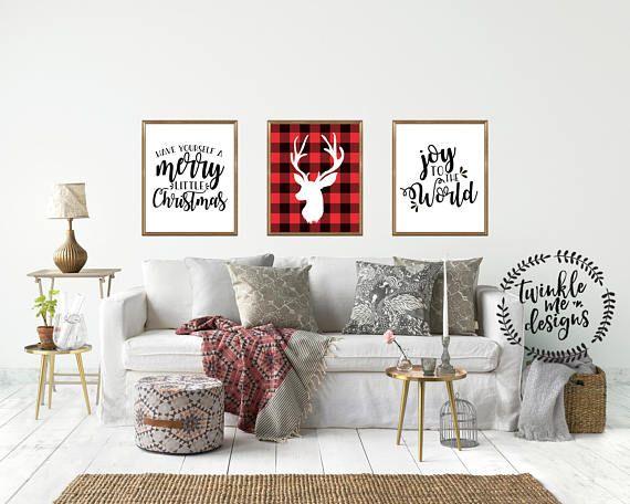 Christmas Decorations, Christmas Decor Ideas, Christmas Wall Decor ...