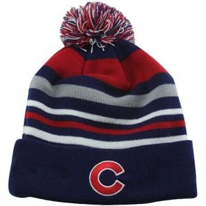 987acbed07f Chicago Cubs Stripe Out Knit Hat by New Era