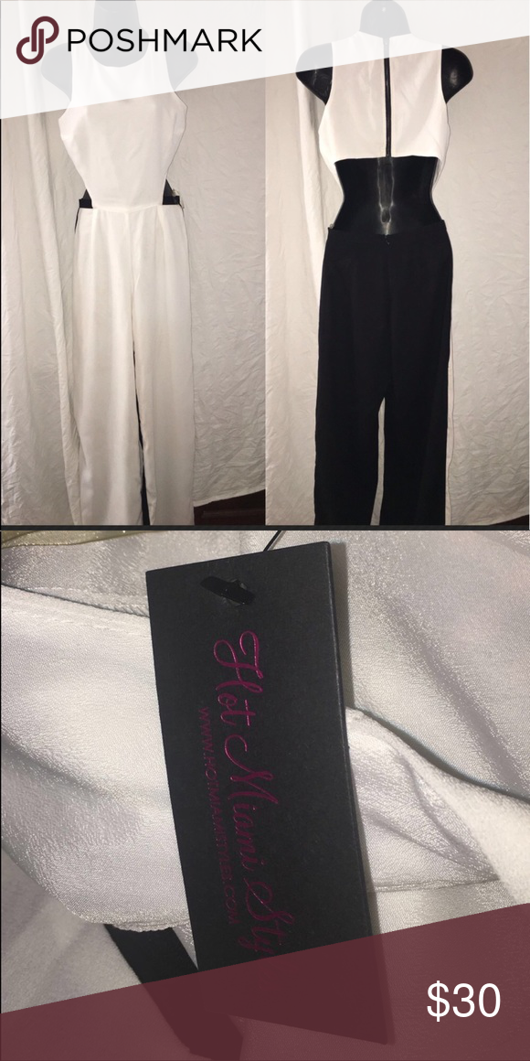 1b564f8958b NEW WITH TAGS‼ Hot Miami Styles Jumpsuit Size Sm New with tags Jumpsuit.  She small with 28 inch inseam. Always accepting offers. 🆕 Hot Miami Styles  Pants ...