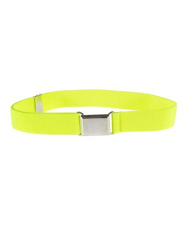 Another great find on #zulily! Lemon Square Buckle Adjustable Belt #zulilyfinds