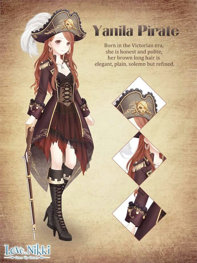 Pin by Kaci Hess on Love Nikki | Pirate outfit, Anime ...