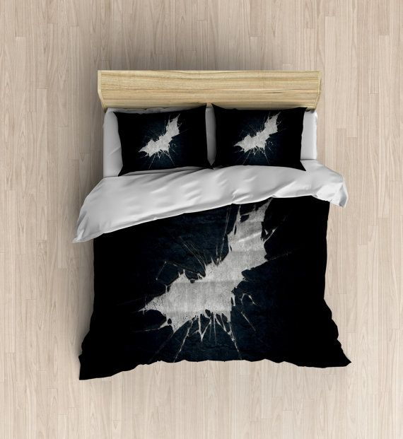 Batman Bedding Bat Symbol Duvet Cover Kids Bedding The Dark - Batman dark knight bedding