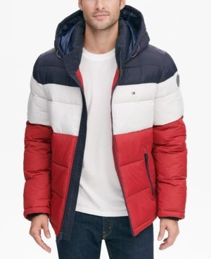 e152265f298 Men's Big & Tall Quilted Hooded Puffer Jacket, Created for Macy's in ...