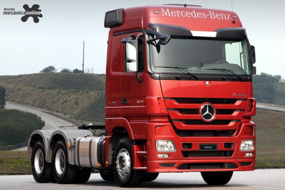 Actros 2546 6x2 Mercedes Bens Brasil Mercedes Truck