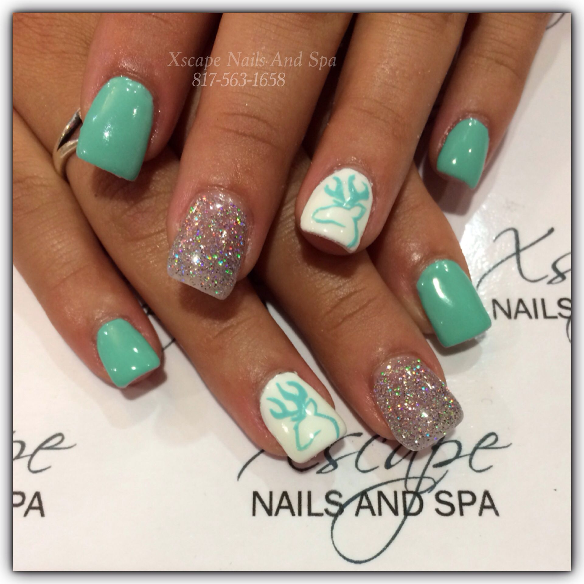 Browning nails, love the colors! | Hair and beauty | Pinterest ...