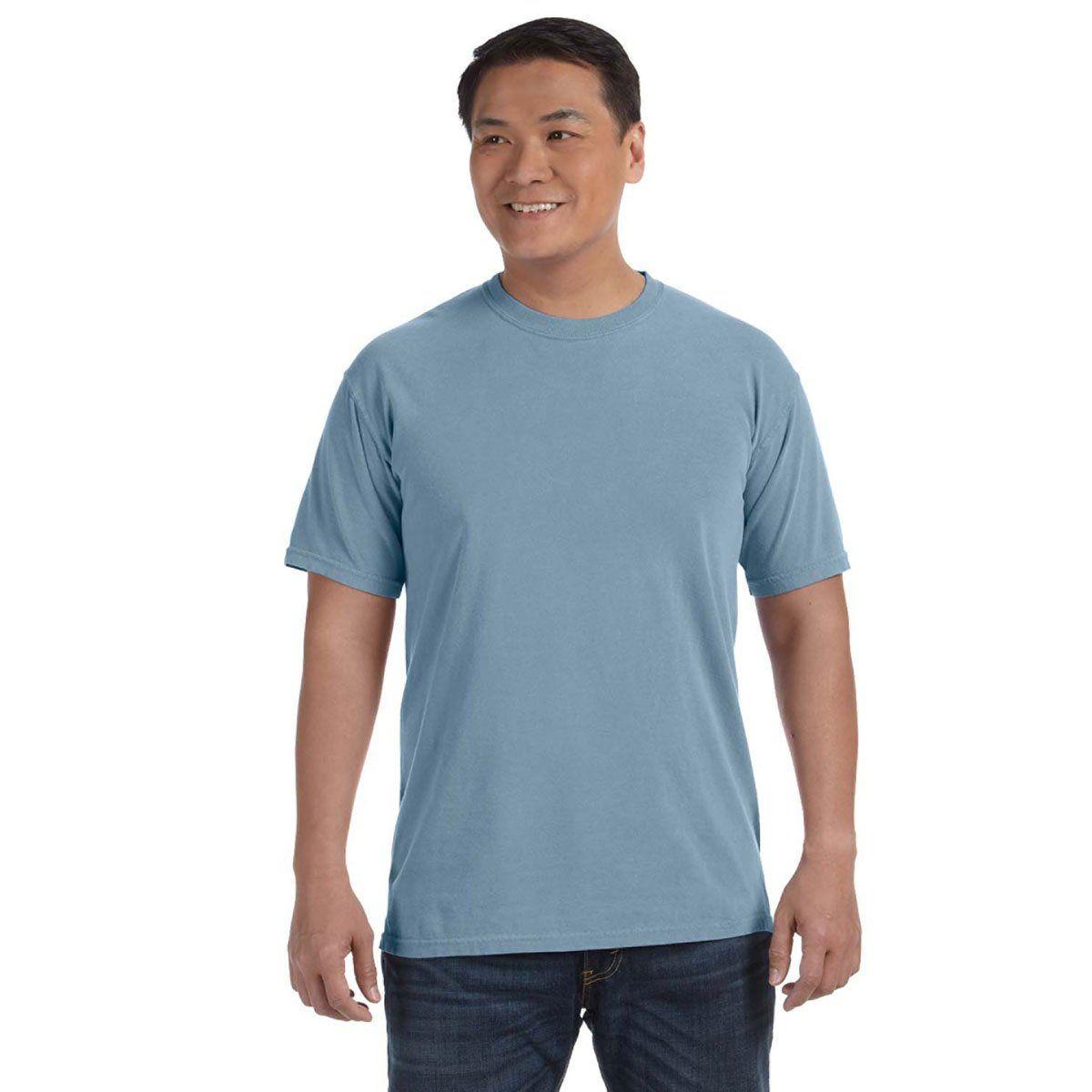 Comfort Colors Men S Bay 6 1 Oz T Shirt Dye T Shirt T Shirt