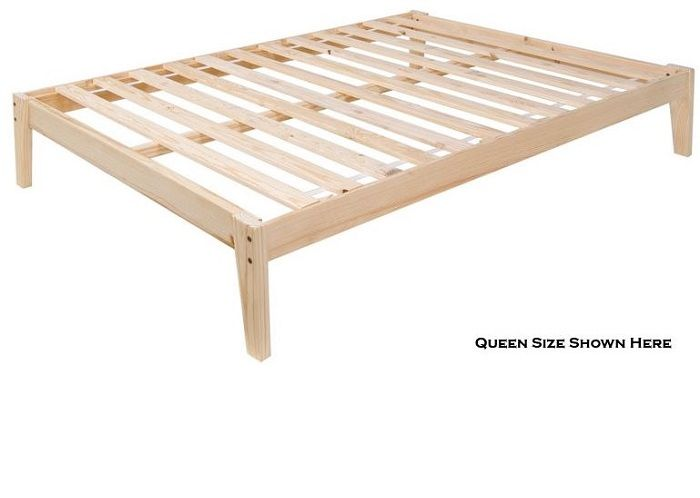 The Pine Plateau The Ultimate Solid Wood Platform Bed With