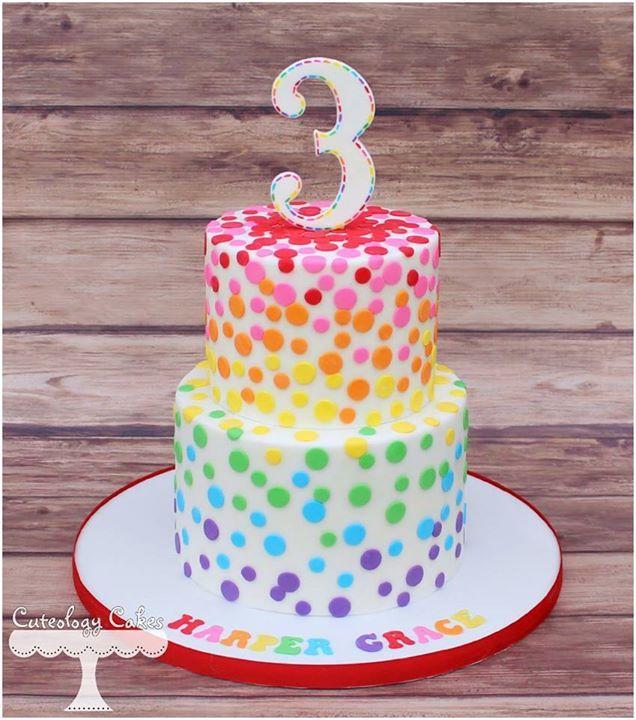 Amazing Rainbow Confetti Cake Rainbow Birthday Cake 3Rd Birthday Cakes Funny Birthday Cards Online Alyptdamsfinfo