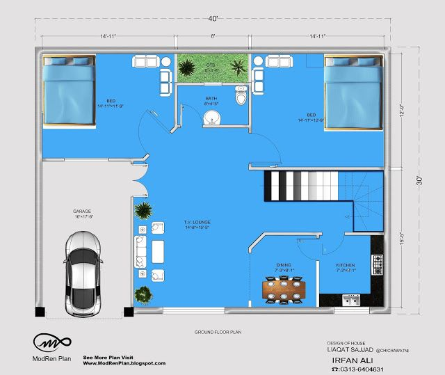 5 marla house plan 30x40 small house plan ideas 1200 5 marla house plan 3d
