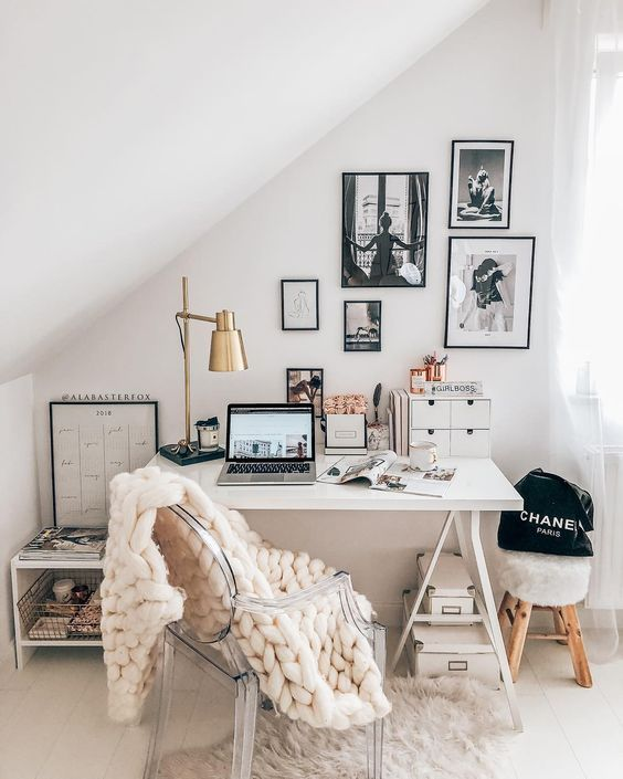 60+ Comfortable Home Office Ideas Page 47 of 64