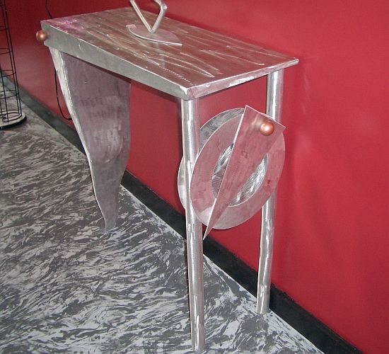 Custom Metal Art & Furniture by Artist Tony Viscardi.  See more at www.ViscardiDesigns.com or call and order today 502-419-6755.