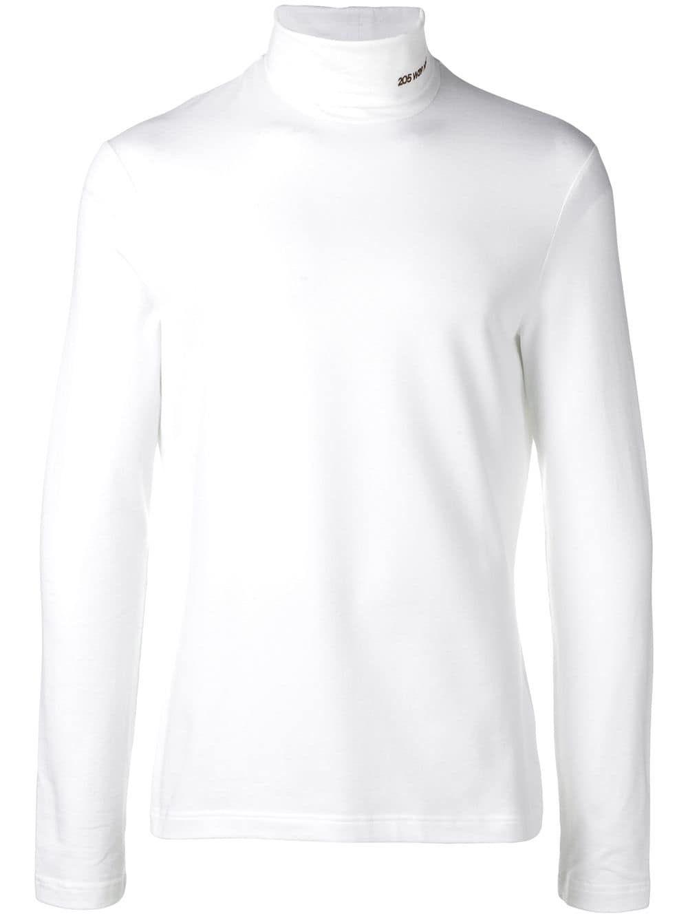 CALVIN KLEIN 205W39NYC CALVIN KLEIN 205W39NYC ROLL NECK SWEATSHIRT - WHITE.   calvinklein205w39nyc  cloth 785ee41f5