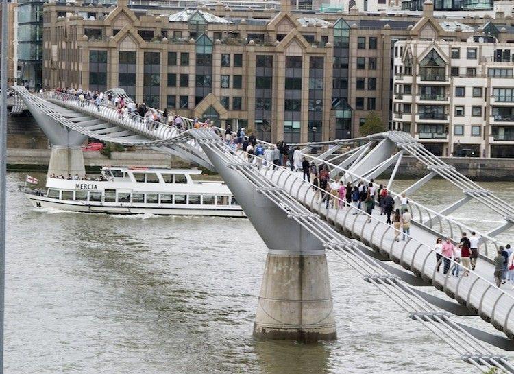 15 Harry Potter Destinations You Can Actually Visit In Real Life Millennium Bridge Millennium Bridge London London