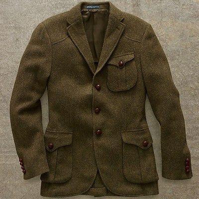 ralph lauren messenger tweed sport coat - Google Search  c680af242e6