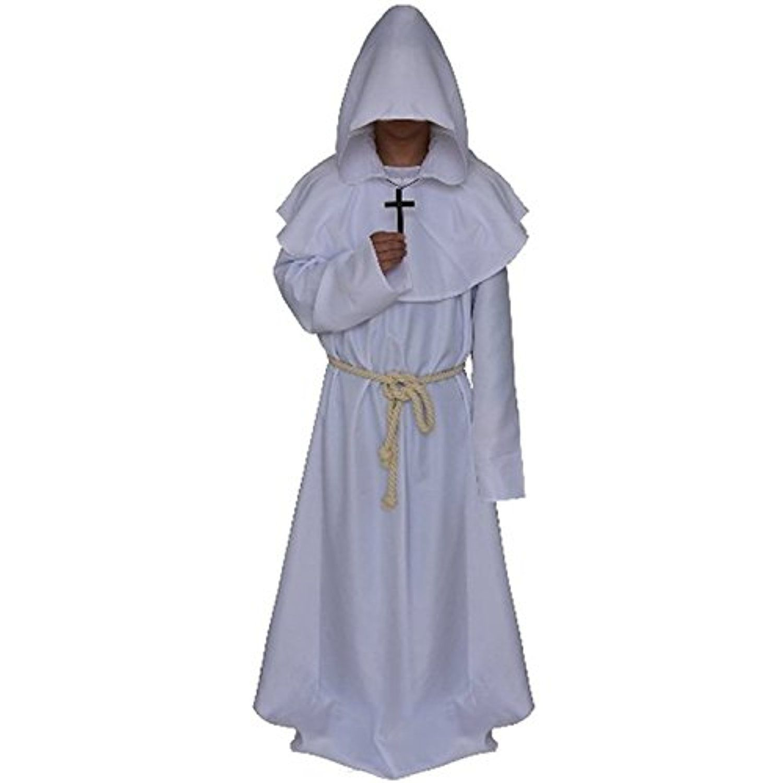 Medieval white robe
