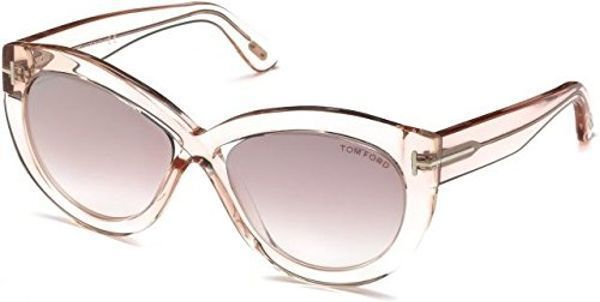 7c804be31ecb Sunglasses Tom Ford FT 0577 Diane- 02 72Z shiny pink gradient or mirror  violet