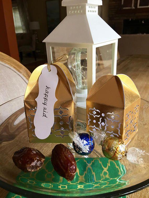 Ramadan Favor Boxes Eid Favor Box Ramadan And Eid Gifts In Eid Favours Eid Gifts Happy Eid
