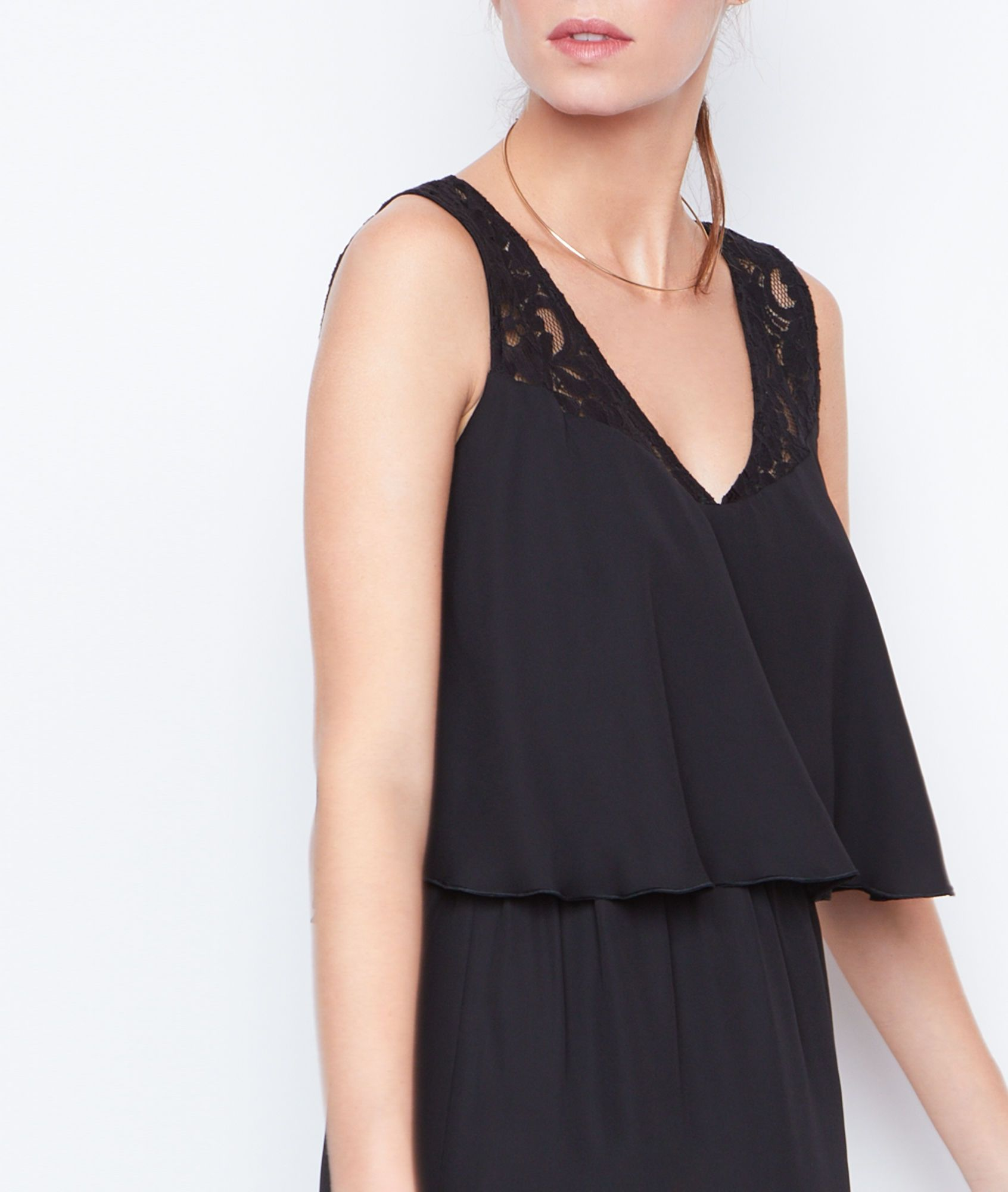 robe coton dentelle etam les tendances de la mode fran aise de la saison 2018. Black Bedroom Furniture Sets. Home Design Ideas