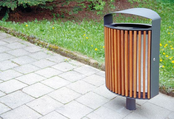 Exterior bins   Street furniture   lena   mmcité   David. Check it out on Architonic