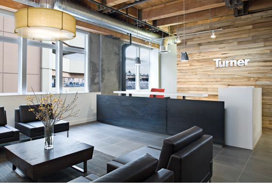When turner renovates or moves into a new office the for Office design kansas city