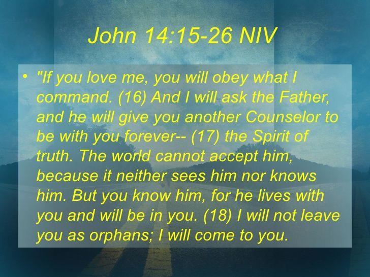 john 14:26-27 - Google Search