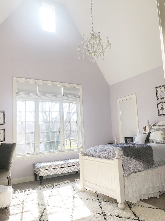 Sherwin Williams Sw 6547 Silver Peony Lilac For Abby