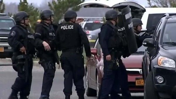 a 70 strong swat team rained down on a us teenager s home after a