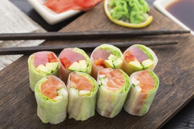 Diaporama FRAIS ! 10 rouleaux de printemps à tester absolument - Inspiration sushi