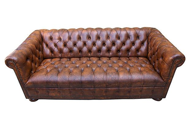English Chesterfield Sofa, C. 1940 On OneKingsLane.com