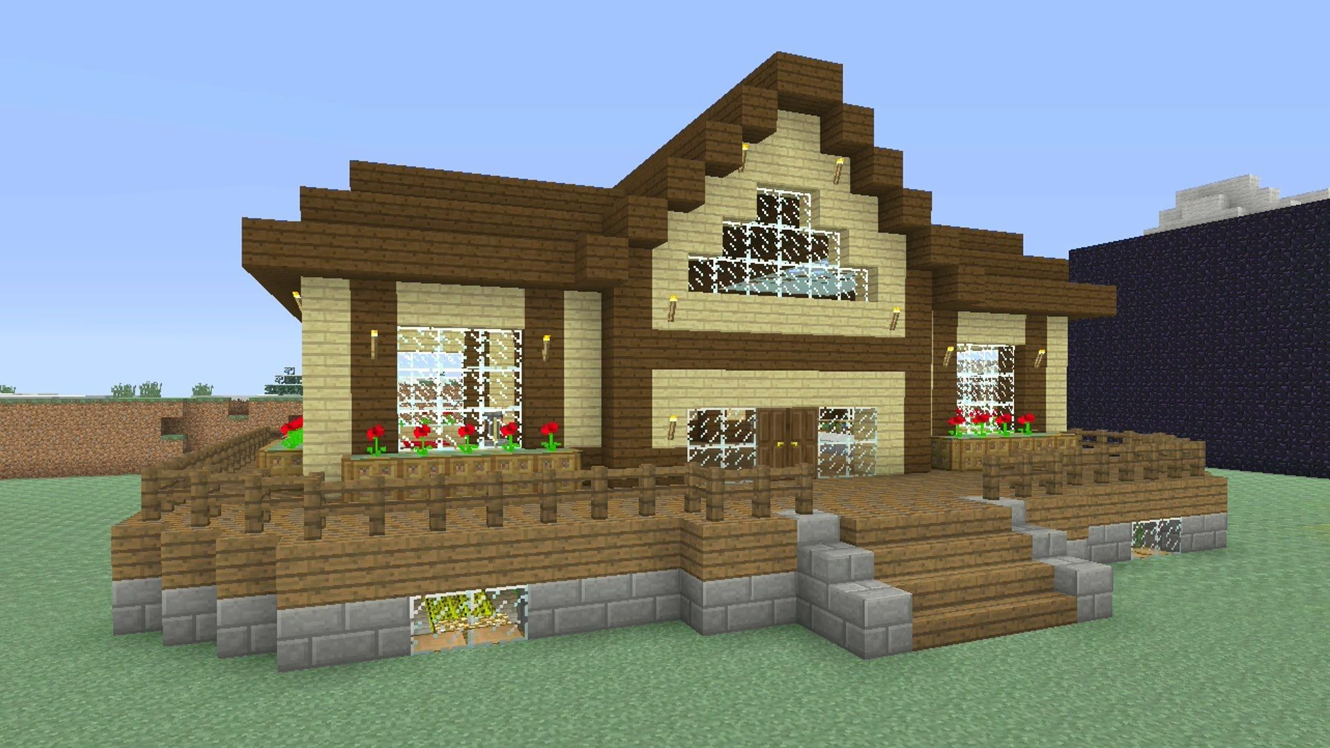 Pin by Grace T on Minecraft!!! | Easy minecraft houses ...