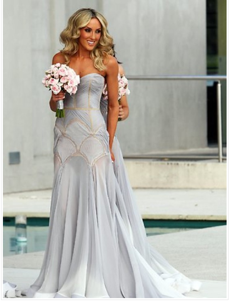 J\'Aton Bridesmaid Dress. So I know this isn\'t a bridal gown - but ...