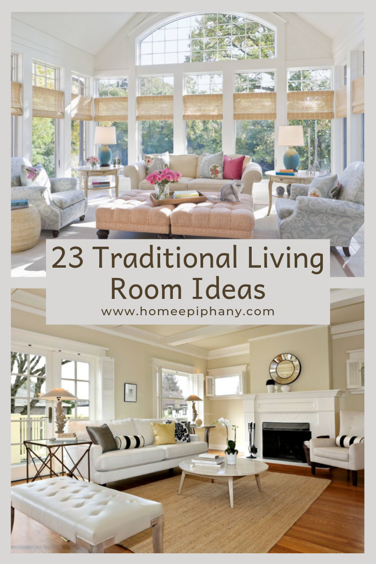 23 Traditional Living Rooms Traditional Design Living