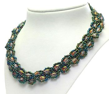 seed bead chains patterns Strictly Seed Bead Necklaces Jewelry