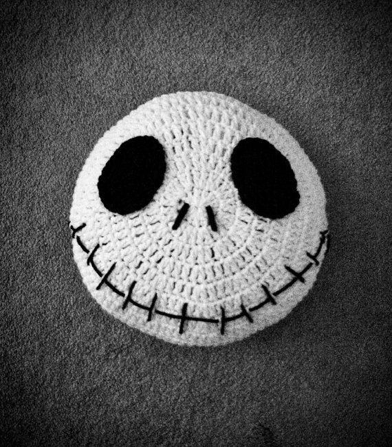 Crochet Nightmare before Christmas Pillow on Etsy, $30.00   °Crochet ...