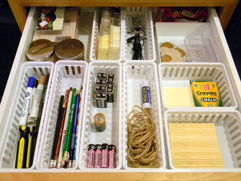 Feature Friday: Organize And Decorate Everything. Organizing Kitchen DrawersJunk  ...