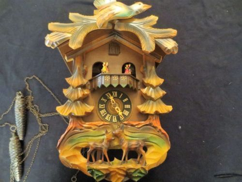 Kaiserwalzer Coo Coo Clock West Germany Clock Coo Coo Clock