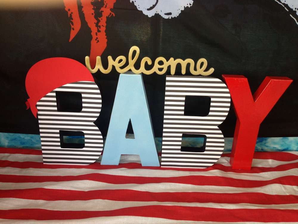 Baby Pirate Baby Shower Party Ideas In 2018 Party Pinterest