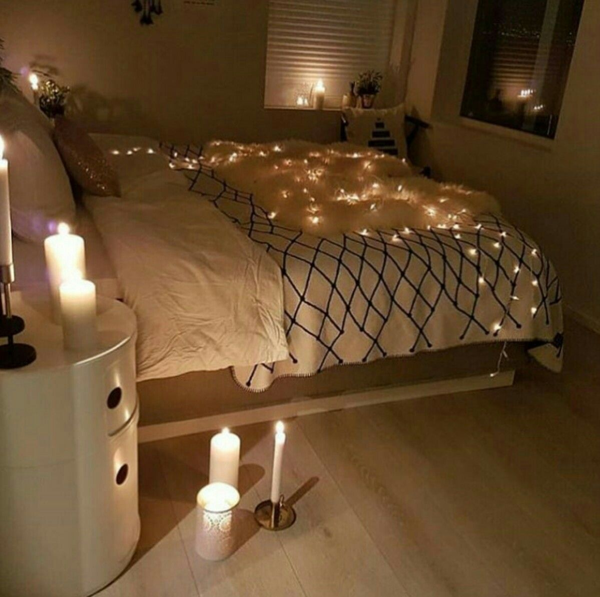 Pin By Eliza On Couple Goals Christmas Lights In Bedroom Home