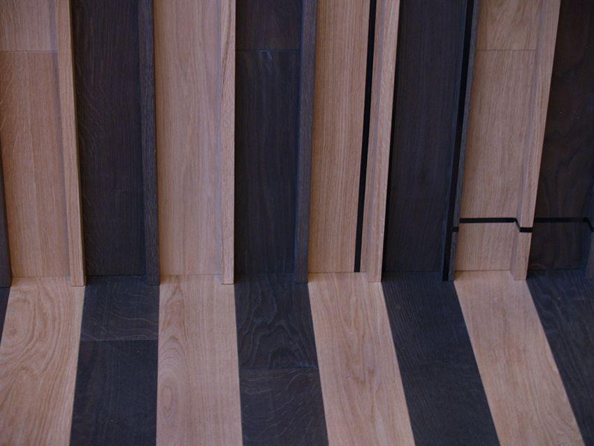 Corà Parquet_ContinuumFloor, pavimento e rivestimento in legno