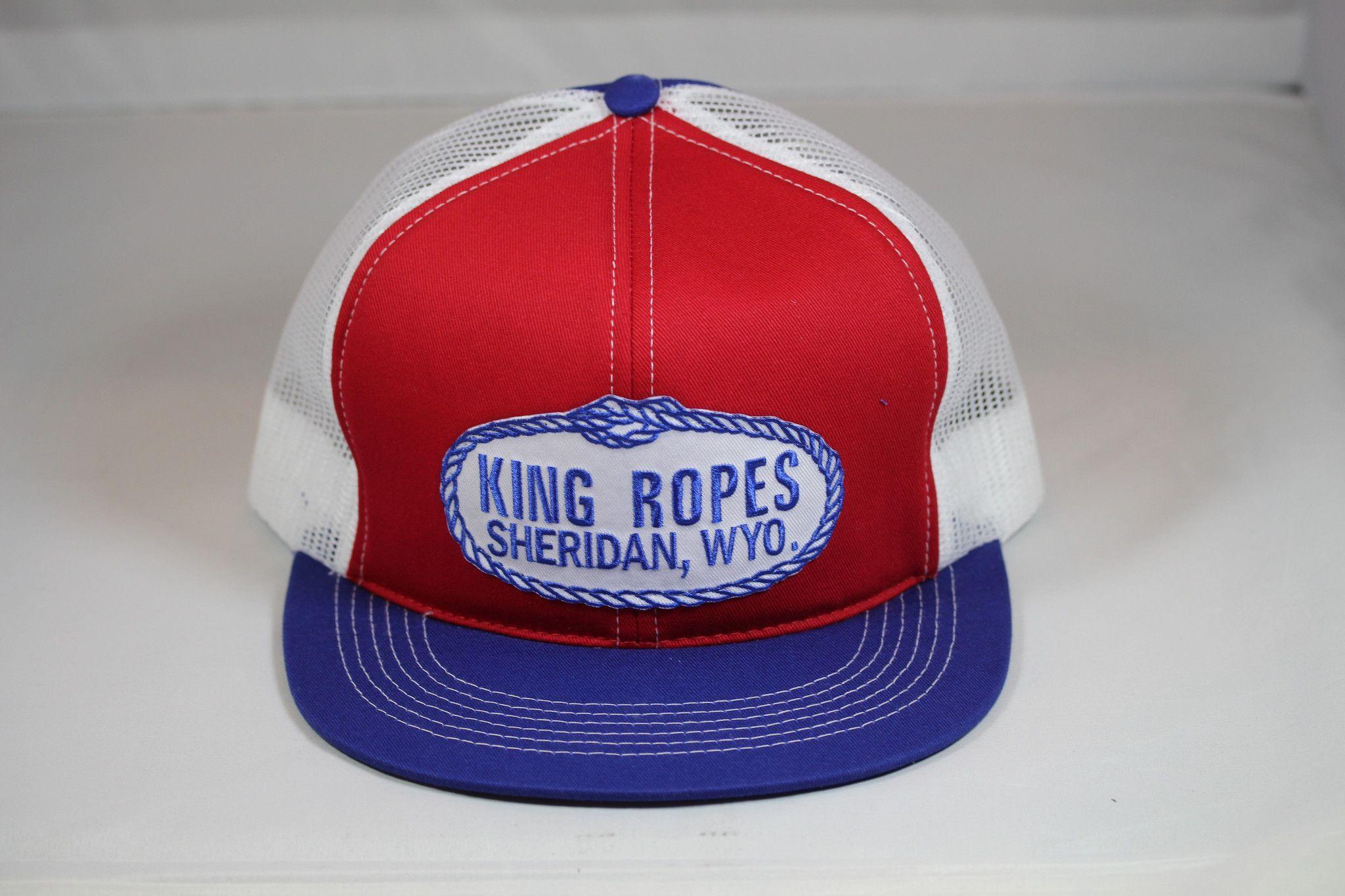 d37cea81803 switzerland king ropes rope mesh trucker hat red white blue 53b96 87e65