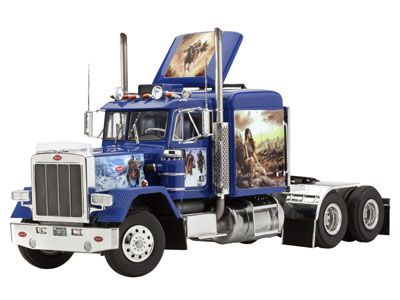 Revell peterbilt 359 conventional 116 scale model truck kit revell peterbilt 359 conventional scale model truck kit from hobbies publicscrutiny Images
