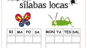 Resultado De Imagen Para Silabas Para Imprimir Y Recortar Pdf Silabas Silabario En Español Juegos De Silabas