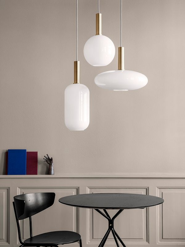 Opal Shade Sphere 2 | Living room light fixtures, Living