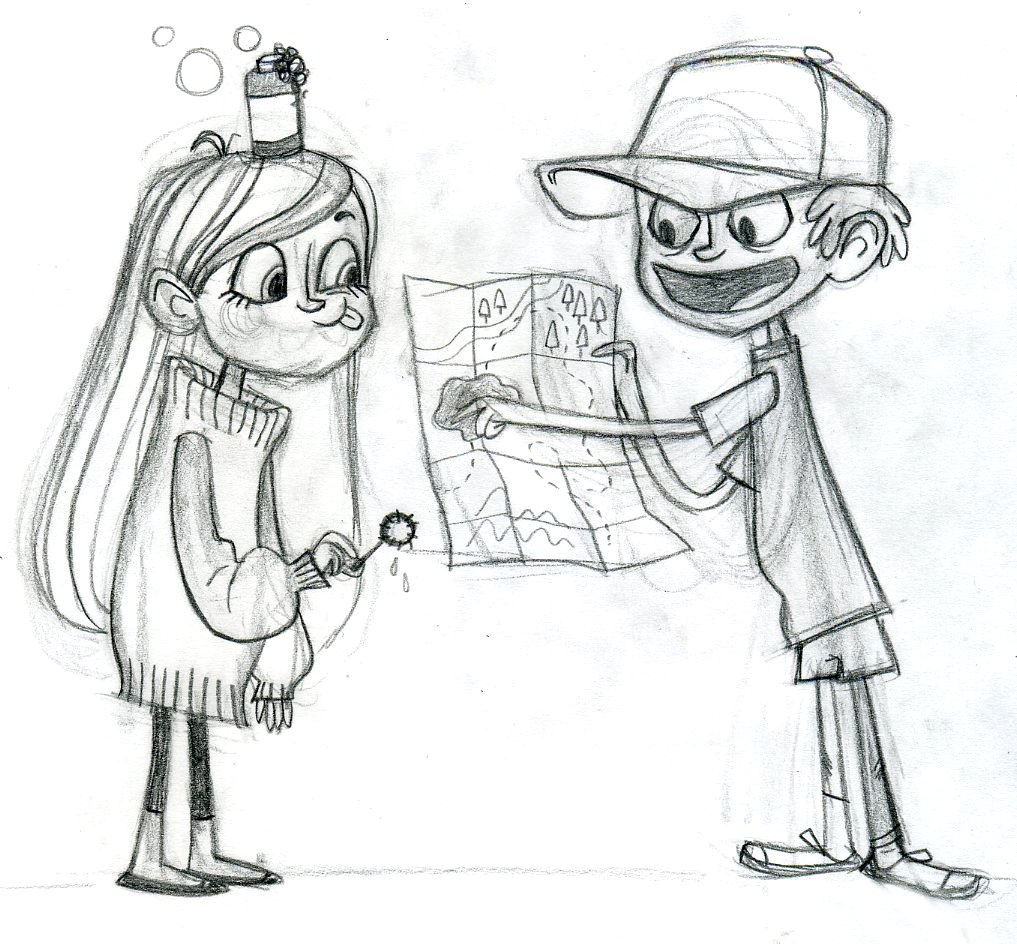 Coloring pages gravity falls - Gravity Falls Tv Series Gallery